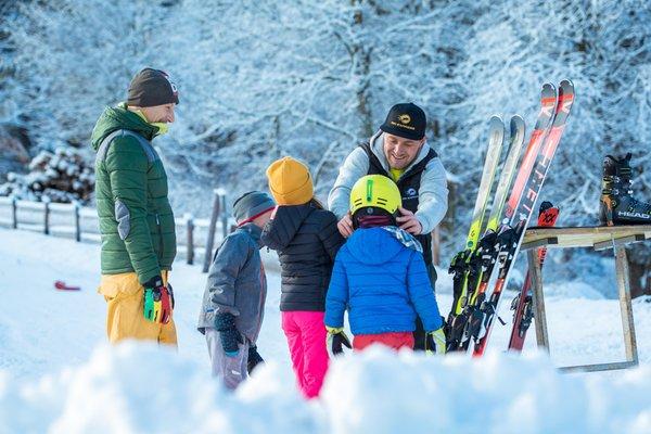 Foto invernale di presentazione Noleggio sci Ski Express Pfalzen