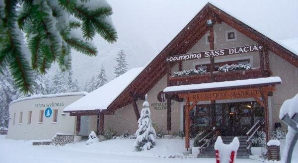 Winter Präsentationsbild Camping Sass Dlacia - Residence 2 Sterne
