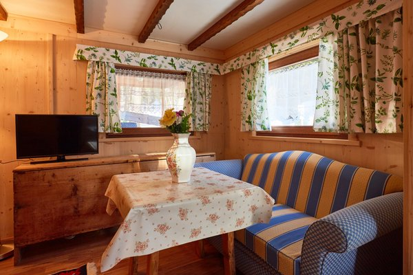 Der Wohnraum Camping Sass Dlacia - Residence 2 Sterne