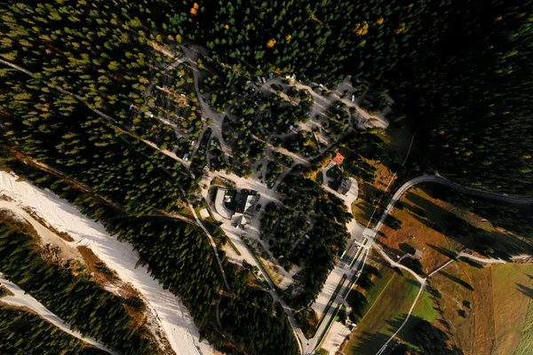 La posizione Residence Camping Sass Dlacia S. Cassiano - Armentarola