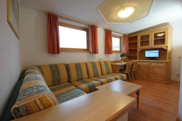 The living area Ciasa Sorapunt - Apartments 3 suns