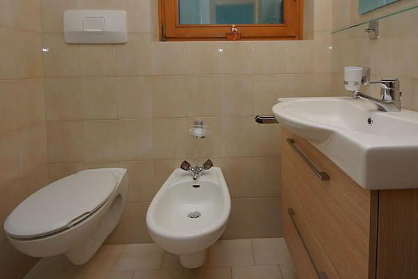 Photo of the bathroom Apartments Ciasa Sorapunt