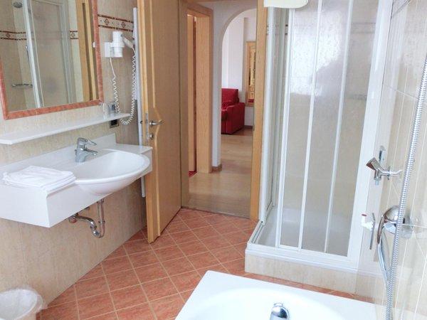 Foto del bagno Residence Chalet Milandora