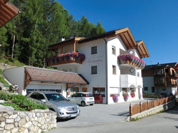 Foto estiva di presentazione Chalet Milandora - Residence 2 stelle