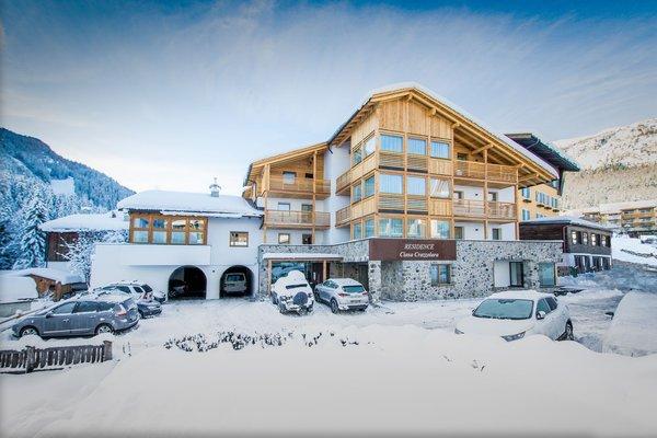 Foto invernale di presentazione Residence Crazzolara