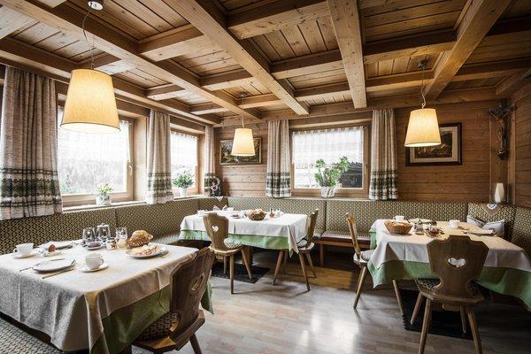 Das Restaurant Colfosco Pcëi