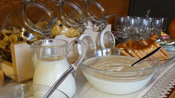 Das Frühstück Pension Pcëi