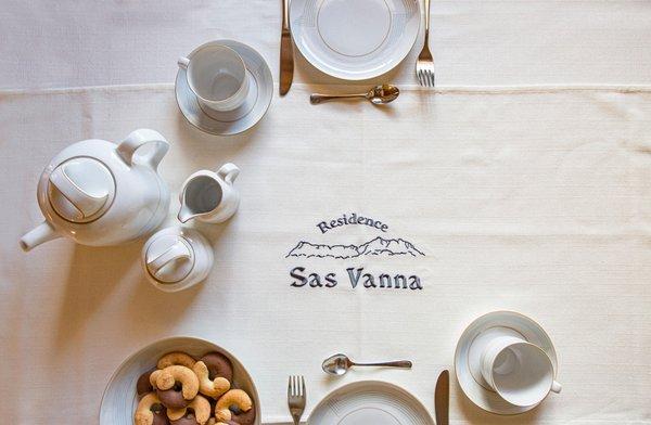 La colazione Residence Sas Vanna