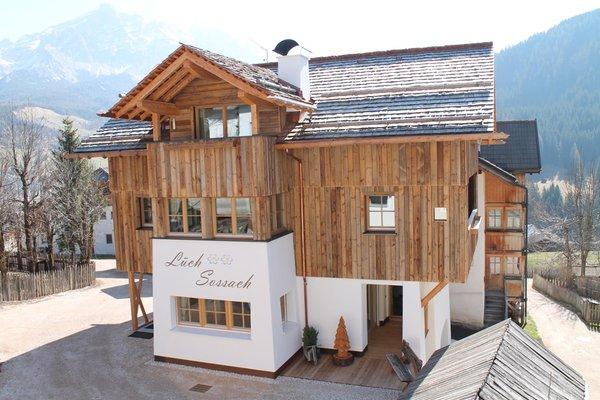 Foto estiva di presentazione Appartamenti in agriturismo Natur Lüch Sossach