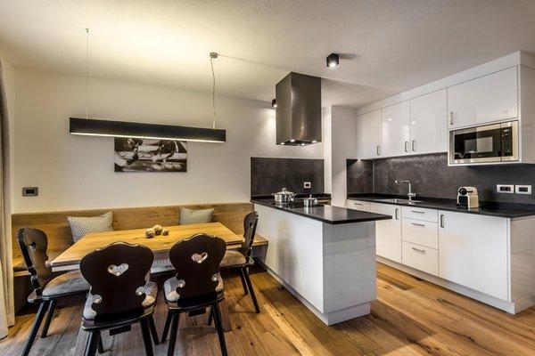 Der Wohnraum Chalet Prades - Ferienwohnungen 4 Sonnen