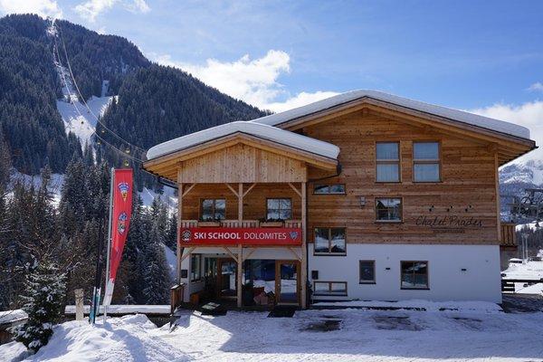 Winter Präsentationsbild Chalet Prades - Ferienwohnungen 4 Sonnen