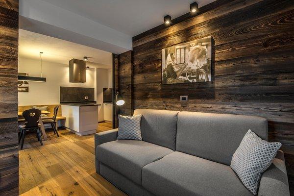 La zona giorno Chalet Prades - Appartamenti 4 soli
