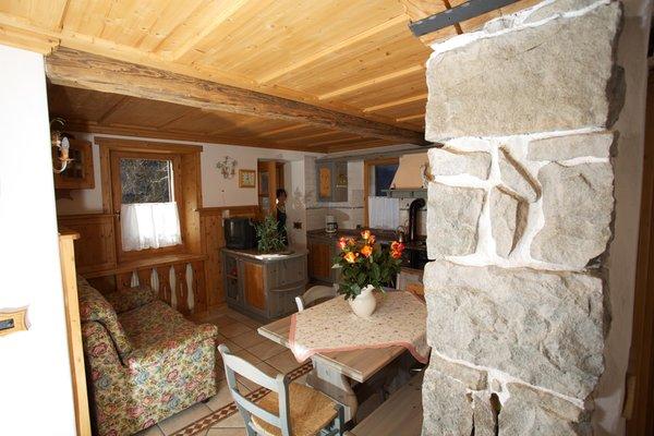 Der Wohnraum Ferienwohnungen Casa Momi