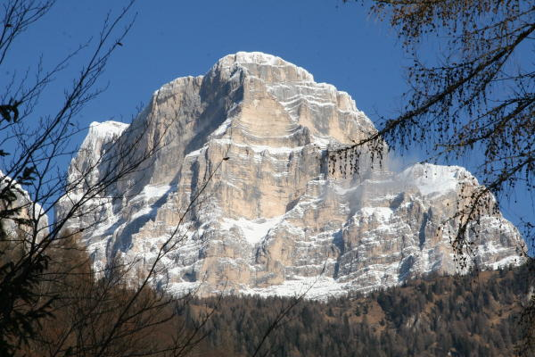 Aussicht Val di Zoldo - Fusine