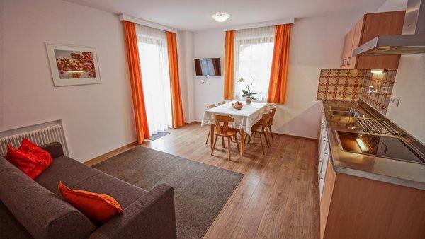 La zona giorno Drau Natur - Appartamenti 3 soli