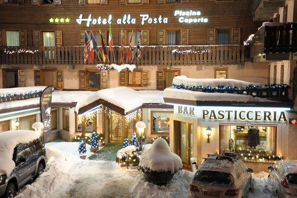 Foto invernale di presentazione Hotel Alla Posta