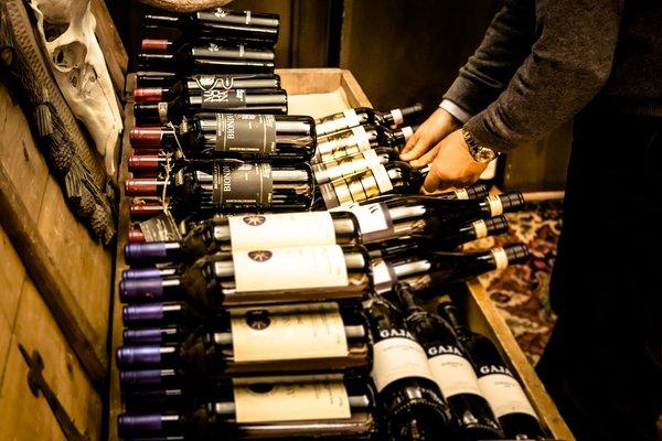 La cantina dei vini Caprile Alla Posta