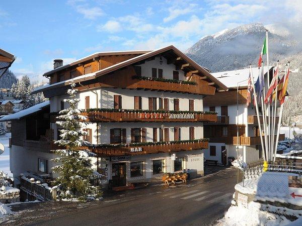 Foto invernale di presentazione Adriana - Hotel 3 stelle