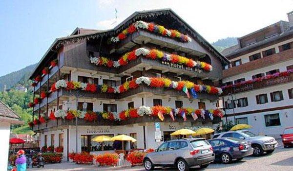Foto estiva di presentazione Alle Alpi - Hotel 3 stelle