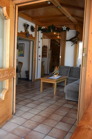 The common areas Hotel Alpenrose