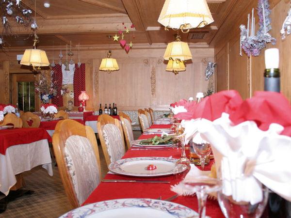Il ristorante Alleghe Alpenrose