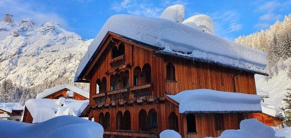 Winter Präsentationsbild Ferienwohnungen In Tabià