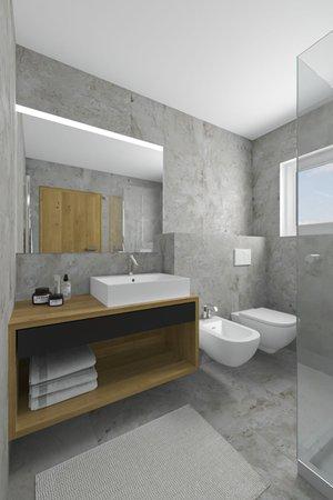 Photo of the bathroom Dolomites Garden Chalet Kristall