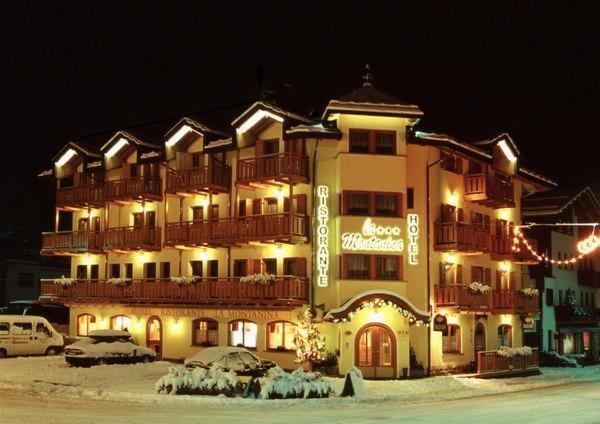 Winter Präsentationsbild La Montanina - Hotel 3 Sterne