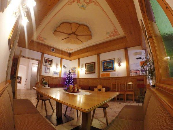 Die Gemeinschaftsräume Hotel La Montanina