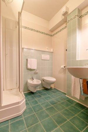 Foto del bagno Hotel Monte Civetta