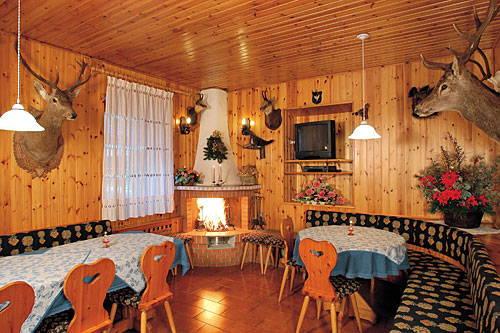 Il ristorante Alleghe - Masarè Savoia