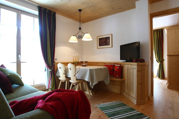 The living area Sol e Nef - Residence