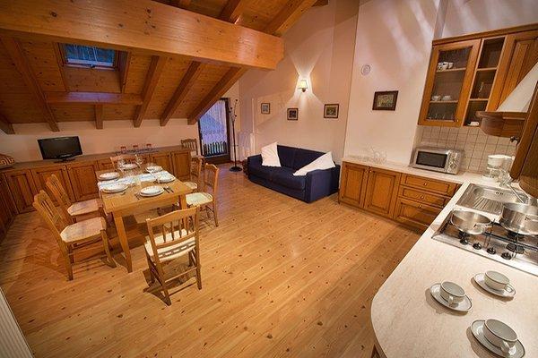 La zona giorno Esperia - Garni-Hotel + Appartamenti 2 stelle