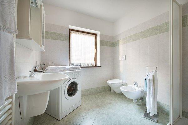 Foto del bagno Garni-Hotel + Appartamenti Esperia