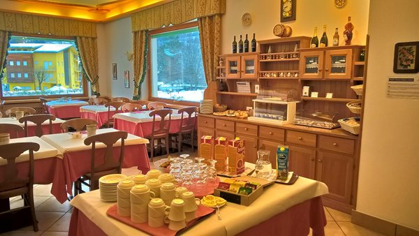 The breakfast Hotel Zoldana