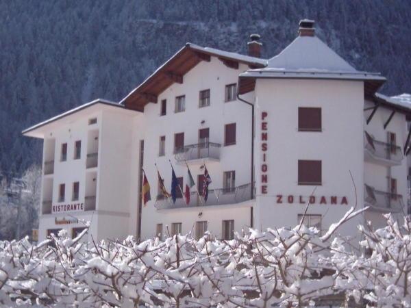 Foto invernale di presentazione Zoldana - Hotel 3 stelle