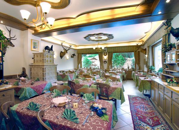 The restaurant Val di Zoldo - Forno Zoldana