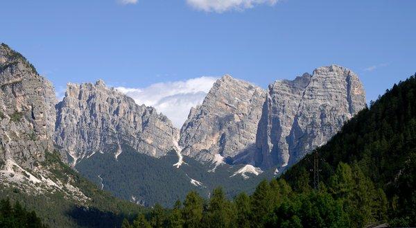 Aussicht Val di Zoldo - Forno