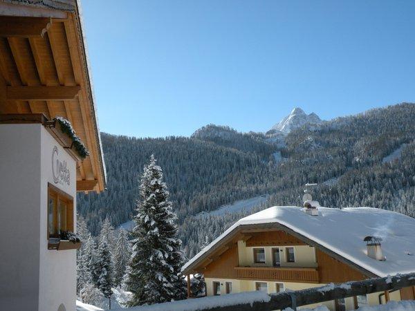 Photo exteriors in winter Civetta