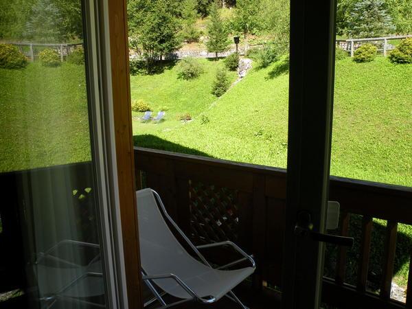 Foto del balcone Civetta