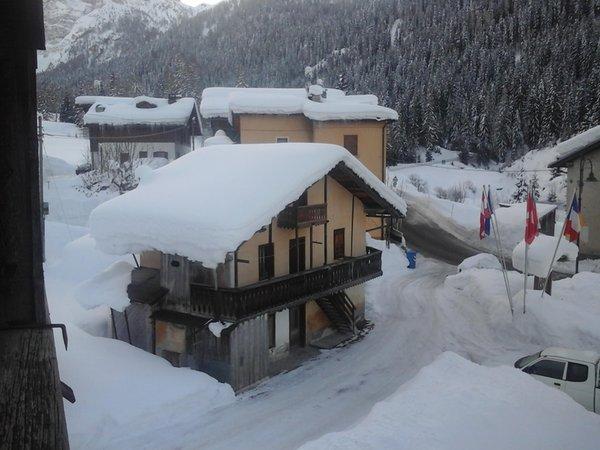 Foto Außenansicht im Winter Ladinia