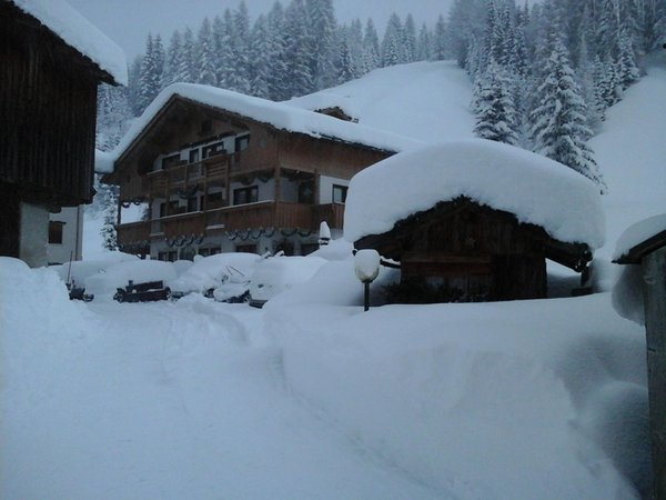 Photo exteriors in winter Ladinia