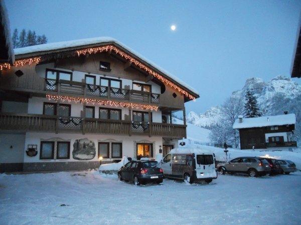Winter Präsentationsbild Garni-Hotel Ladinia