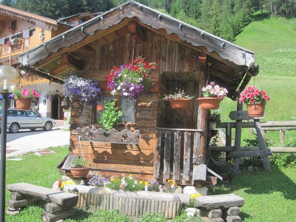 Foto vom Garten Selva di Cadore - Pescul