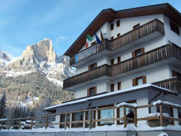 Foto invernale di presentazione Ongaro - Garni-Hotel 3 stelle