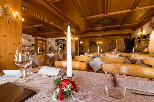 Il ristorante Val di Zoldo - Pecol Valgranda