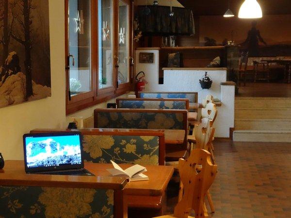 Il ristorante Val di Zoldo - Coi La Caminatha