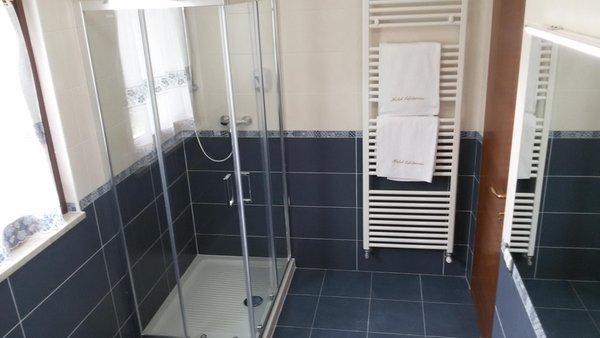 Foto del bagno Hotel Edelweiss
