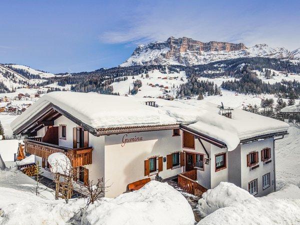 Foto esterno in inverno Villa Gumina