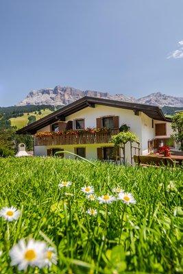 Foto esterno in estate Villa Gumina